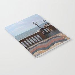 The Ringling Overlooking Sarasota Bay I Notebook