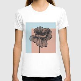 Black Poppy T-shirt