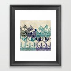 Two Worlds Framed Art Print