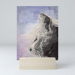 GeometriCat Mini Art Print