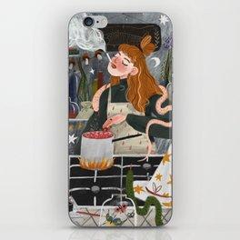 Witch smokes iPhone Skin