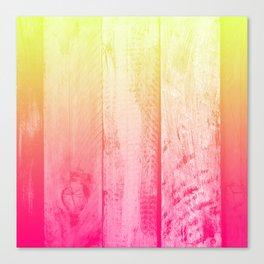 Flaming Wood Canvas Print