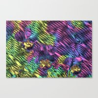 psychedelic Canvas Prints featuring Psychedelic by Dorothy Pinder
