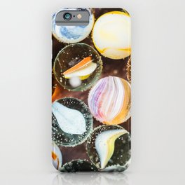 Vintage Glass Marbles 13 iPhone Case