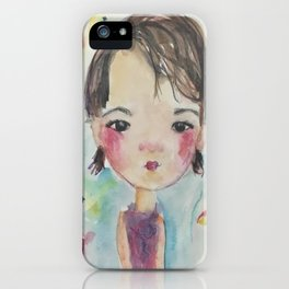 Little Girl Jocelyn iPhone Case