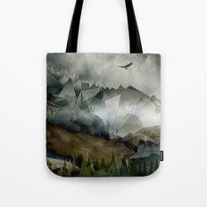 Eagle Mountains Tote Bag
