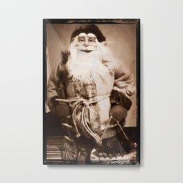 Father Christmas aka Santa Metal Print