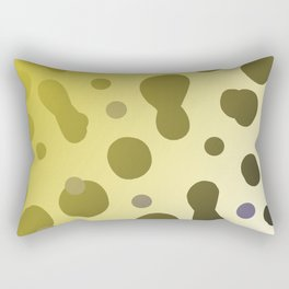 Wild design dots b-white Rectangular Pillow