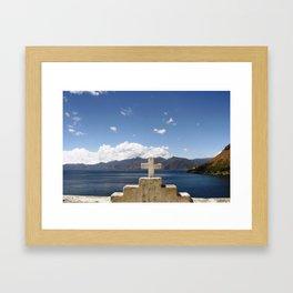 San Jorge, Guatemala.  Framed Art Print
