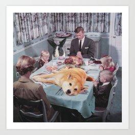 Dinnertime Art Print