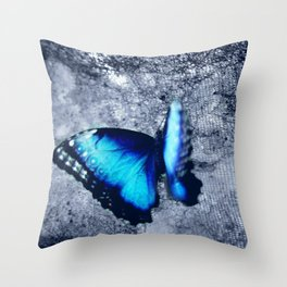 Blue Picture Perfect Throw Pillow