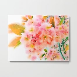 Blossom (Soaked Collection) Metal Print
