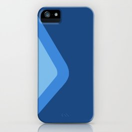Epcot Blueberry Wall iPhone Case