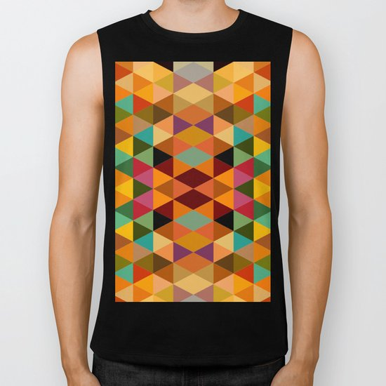 Middle Triangles Biker Tank