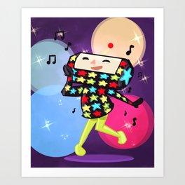 dipp (katamari) Art Print