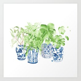 Ginger Jars no. 2 Art Print