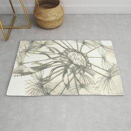 Grey Dandelion Rug