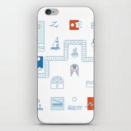 Casa de playa iPhone Skin