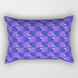 Pixelated pattern Rectangular Pillow