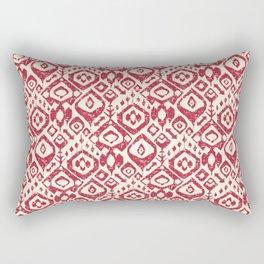 lezat red Rectangular Pillow