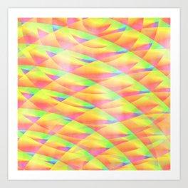 Bright Interference Art Print