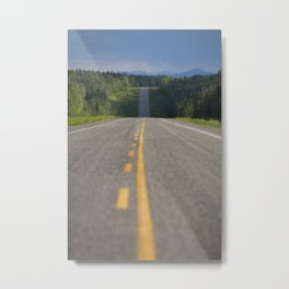 The Alaskan Highway Metal Print