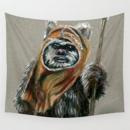 Ewok Wall Tapestry