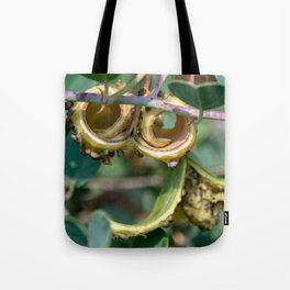Tropical Smiley Tote Bag