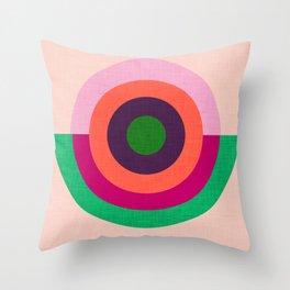 Solaris Pink  #homedecor #midcenturymodern #midcentury Throw Pillow