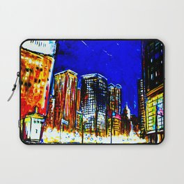 Chicago Nights Downtown Laptop Sleeve