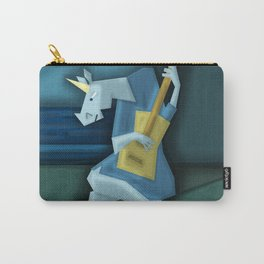 Old Guitarist Unicorn V02 Carry-All Pouch