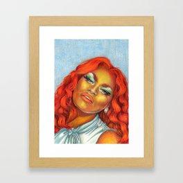 The Olivia Lux Framed Art Print