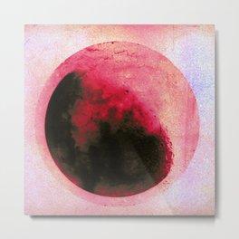 Blood Moon Metal Print