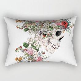Skull Queen Rectangular Pillow