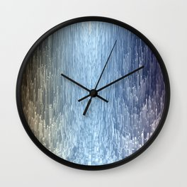 Trail of light Wall Clock