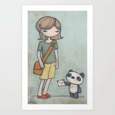 Panda Express Art Print