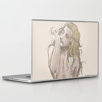 fili Laptop & iPad Skins featuring Milky Fili by AlyTheKitten