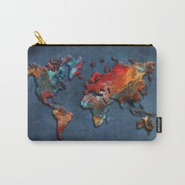 World Map 2020 Carry-All Pouch