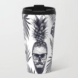 Tropical skull Travel Mug