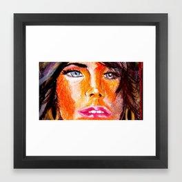 The Curious Soul! Framed Art Print