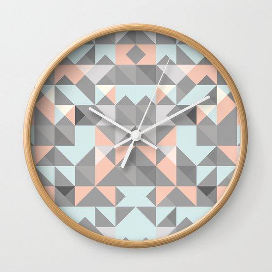 Triangular Pattern Wall Clock