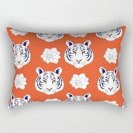 Auburn orange Rectangular Pillow