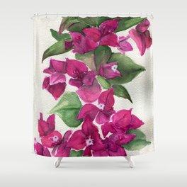 Paper Stars Shower Curtain