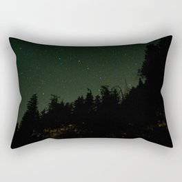 Nightscape at Orcas Island Rectangular Pillow
