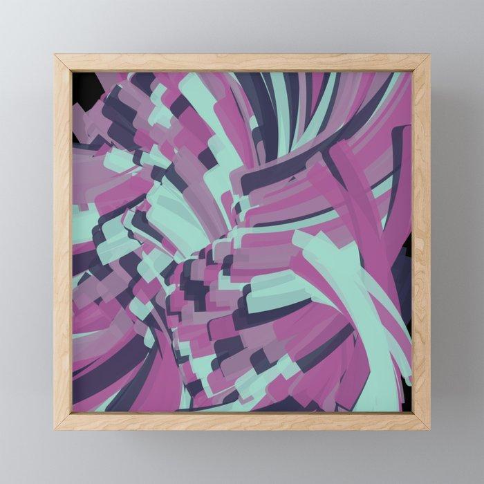Twisting Nether Framed Mini Art Print