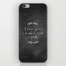 A Bushel and a Peck  iPhone & iPod Skin