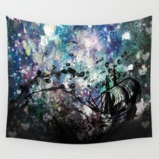 A Skilled Sailor Wall Tapestry