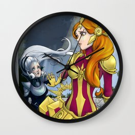 Diana x Leona - League of Legends Wall Clock