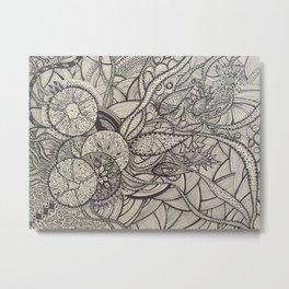 Manifestation particle Metal Print