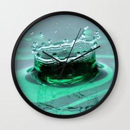 Water droplet 2 Wall Clock